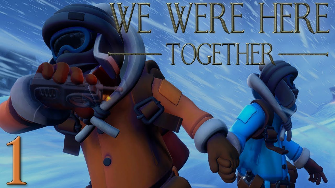 Freezing Together (Again) | We Were Here Together PART 1 Co-Op Let's Play/Walkthrough | PC Gameplay - YouTube
