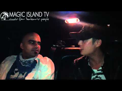 Roger Shah interview with Shogun - Special for Magic Island TV