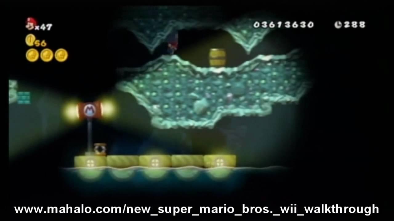 New Super Mario Bros Wii Walkthrough World 6 6 Youtube