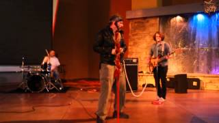 Cosmic Delta Radio with their song,Reggae Shark, Desert Ridge 2014