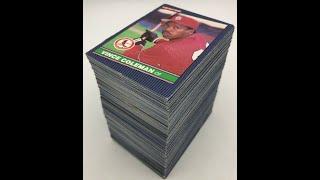 1986 LEAF SET 264 Card Checklist