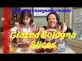 Retro Bologna Recipe - Glazed Bologna Slices - Recipe Archaeology