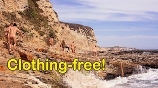 Download Video Prowling Panther Beach - nudist group explores oceanside rock formations MP3 3GP MP4