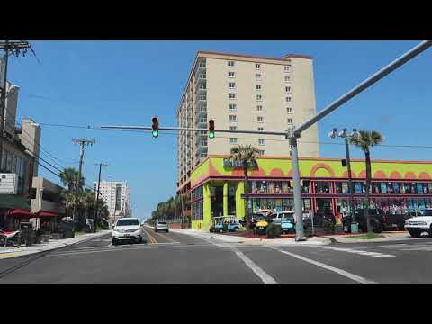 North Myrtle Beach South Ocean BLVD POV (North of Atlantic Beach) | Roadside