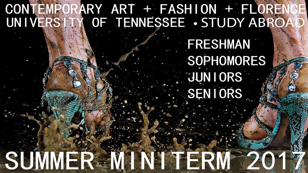 Contemporary Art Fashion Florence Utk Study Abroad Youtube