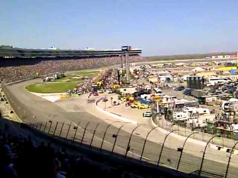National Anthem and B52 flyover at Texas Motor Speedway - November 4, 2012