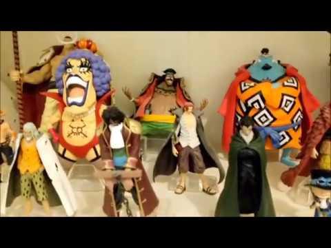ma collection de figurines one piece version hachette youtube. Black Bedroom Furniture Sets. Home Design Ideas