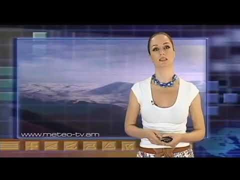 Weather Presenter Sona Verdyan From Meteo TV