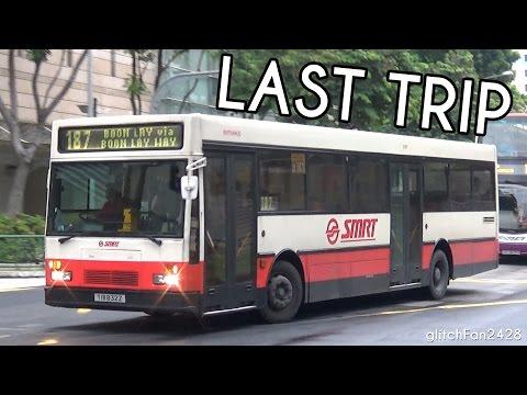 [SMRT] (Retired) TIB832Z's Last Ever Revenue Service Trip - Mercedes Benz O405 Hispano Carrocera