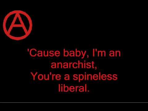 against me! - baby i'm an anarchist (lyrics)