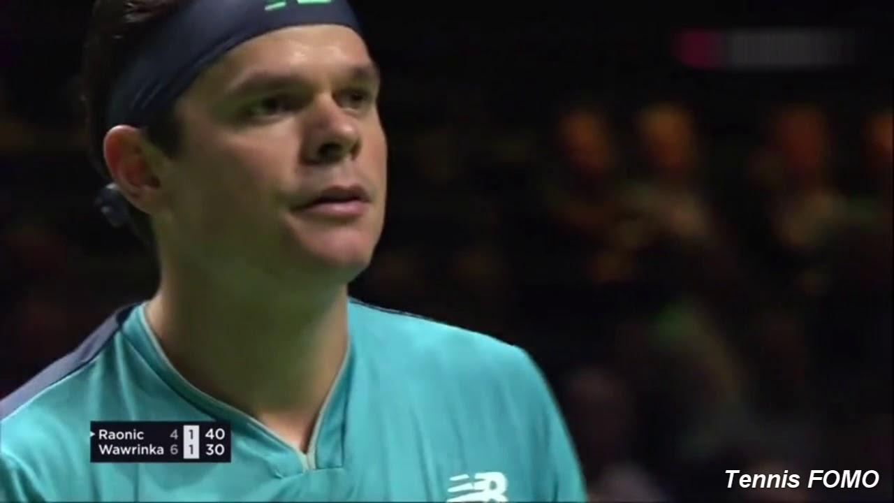 Highlights Raonic vs. Wawrinka Rotterdam 2019
