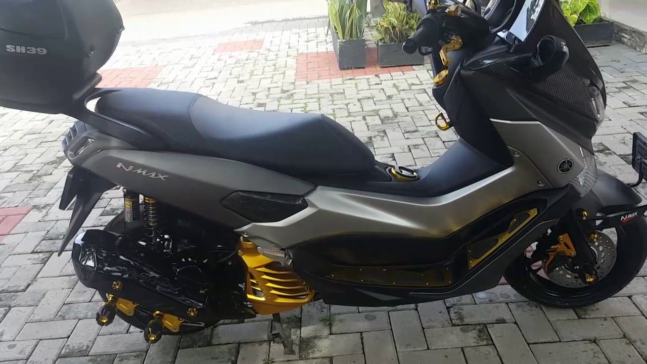 50 Modifikasi Yamaha Nmax Warna  Abu  Abu  Modifikasi Yamah
