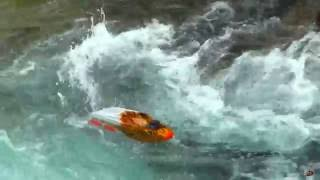RC ADVENTURES - THRASHER JET BOATS vs WATERFALL - 5S Lipo - Streamline RC
