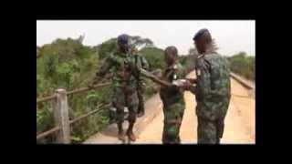 Défense  frontière nord ouest délimitation de la frontière ivoiro guinèene