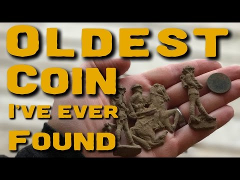Oldest coin I've ever found!
