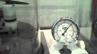 Can a propeller provide thrust in a vacuum