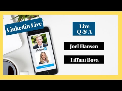 linkedin-live-interview:-tiffani-bova,-salesforce-global-growth-evangelist-&-joel-hansen