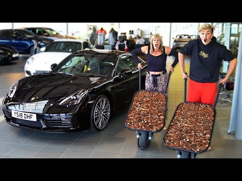 I Bought my DREAM CAR using Only Pennies & It Worked... ($100,000)
