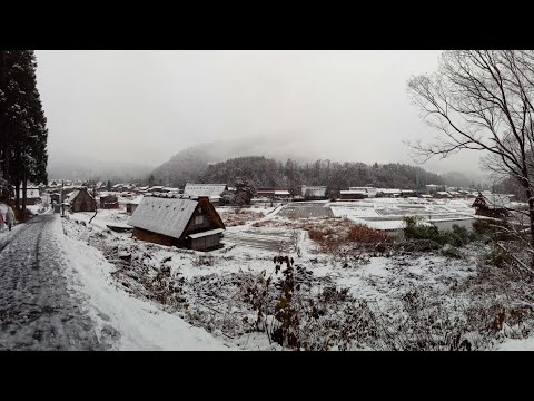 Shirakawa - Go From Takayama Gifu, Japan. November 2017