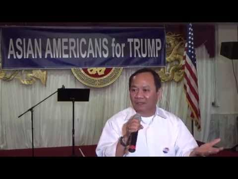 A Vietnamese independent voter talked about his vote for Donald Trump in election 2016