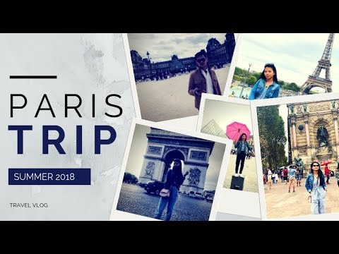 PARIS travel vlog 2018