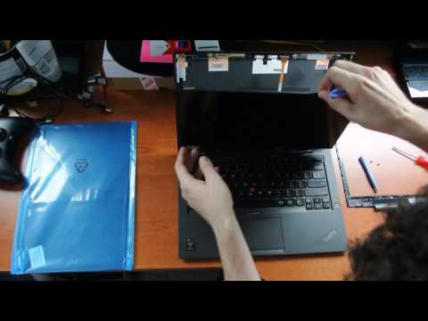 Laptop Screen Replacement   How To Replace Laptop Screen Lenovo X1 Carbon 20BS Series