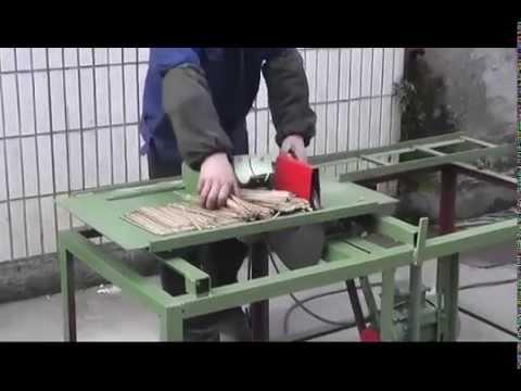 Линия производства шпажек для барбекю