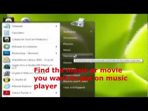 How to add music to craig mp3 player