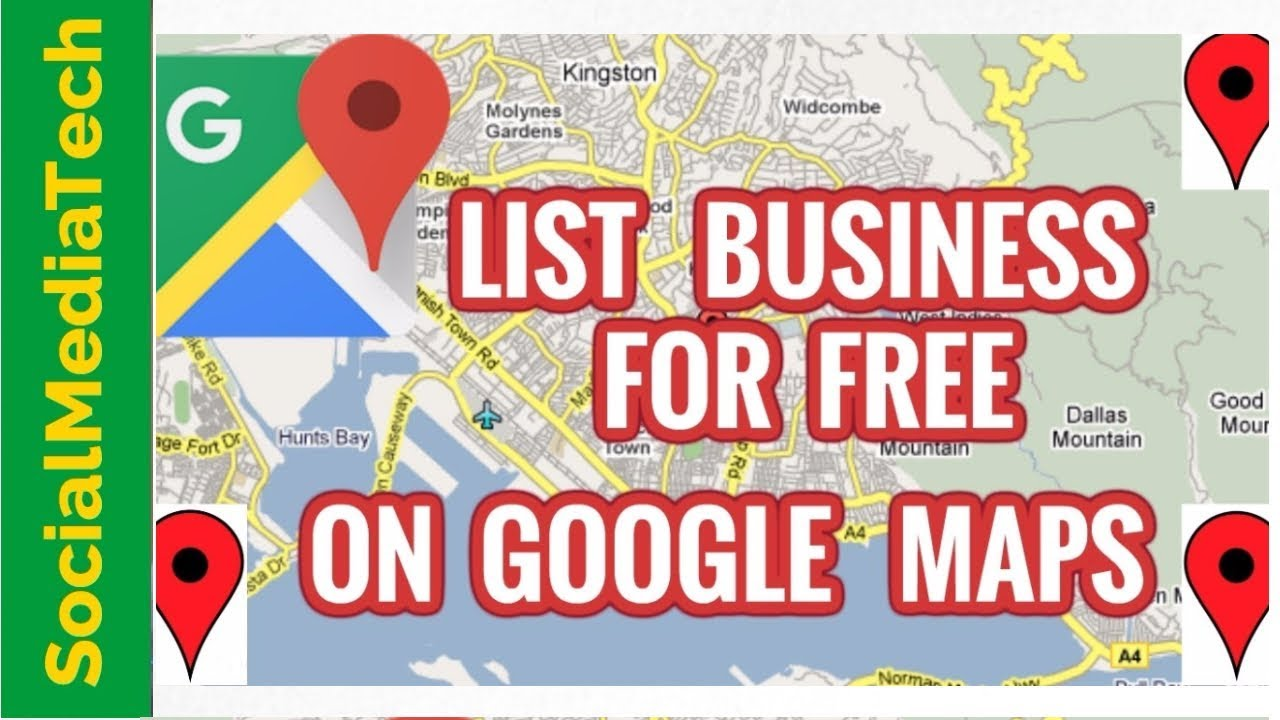 How To List Your Business On Google Maps Free - YouTube