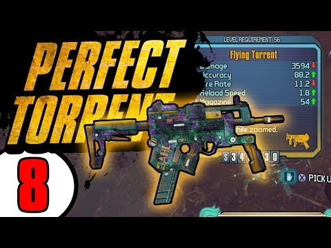 PERFECT TORRENT! - Road to Handsomeness - Day 8[Borderlands - TPS]