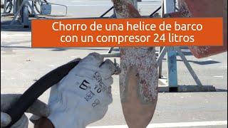 Como limpiar una helice de barco