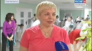Врачи детской областной больницы устроили спортивный флэшмоб(, 2016-04-08T00:38:02.000Z)