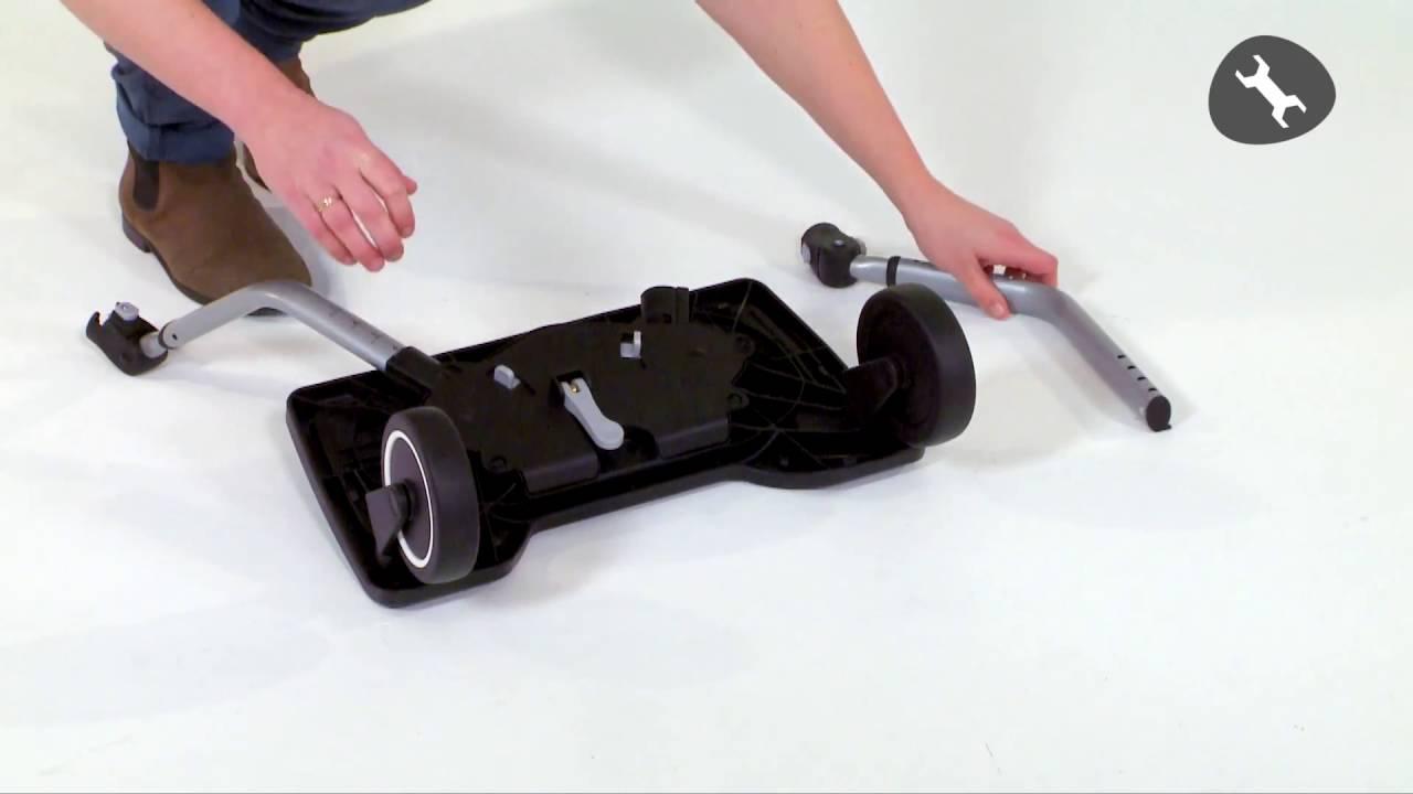 planche roulette pour poussette de bebe confort youtube. Black Bedroom Furniture Sets. Home Design Ideas