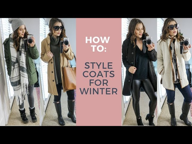 HOW TO STYLE COATS FOR WINTER & STILL LOOK CUTE