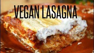 How to Make Vegan Lasagna | Sausage & Cheese with Bechamel Sauce