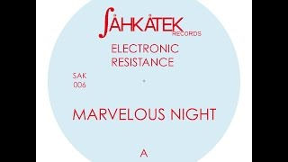 Electronic Resistance - Marvelous Night (Original mix) - 2006