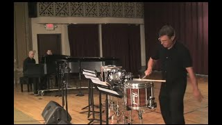 Snare Duet Performance With Piano Include Transformer Sound Track