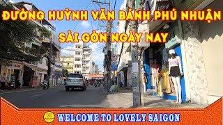 Ngắm sài gòn về chiều trên Đường Huỳnh Văn Bánh Phú nhuận Sài Gòn ngày nay ☑️ lovely saigon