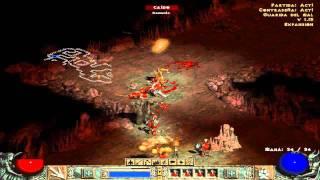 Diablo 2 - Acto 1.Quest 1:Guarida del Mal (Español) Gameplay HD