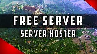 KOSTENLOSE MINECRAFT SERVER HOSTER! 📺 SERVER HOSTER FREE | Minecraft Server Free
