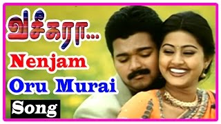 Vaseegara Tamil Movie | Scenes | Sneha proposes to Vijay | Nenjam Oru Murai Song