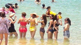 Vịnh hạ long #7 ▶ Tắm biển Hoàng hôn trên bãi biển Vịnh Hạ Long