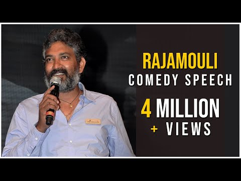 Rajamouli Comedy Speech  - Dikkulu Choodaku Ramayya Audio Launch Live