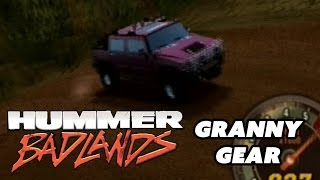 Xin Plays: Hummer Badlands (PS2) Part 1: Extreme Off Road: Granny Gear