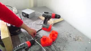 видео Зарядка для шуруповёрта своими руками