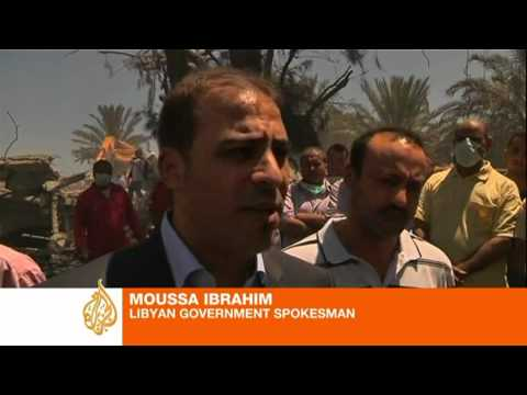 Libya: Nato 'killed 19 civilians' in Surman air strike