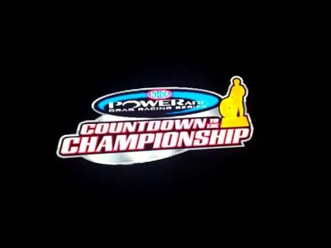 Nhra Powerade Drag Racing Series Countdown To The Championship Part 1