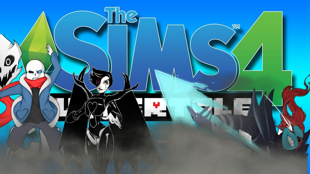 sims 4 undertale cas genocide bosses youtube