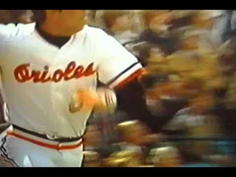 "Cal Ripken, Jr. Hits Home Run, Opening Day 1982! ""Baltimore Orioles"""