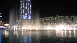 Танцующие фонтаны (Дубай Молл)(Одно из самых красивых зрелищ Дубая! Каждые полчаса! Dubai Mall Fountains., 2014-12-21T21:12:11.000Z)